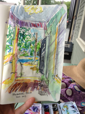 Provender porch