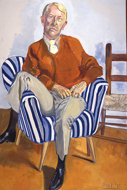 a look at the life of painter alice neel and her popular portraits For this exhibition, author and critic hilton als has curated a selection of alice neel's drawings and paintings portraying people of color, mining the portraits she made while living in upper.