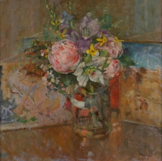Diana-armfield-flowers-at-christmas -llwynhir