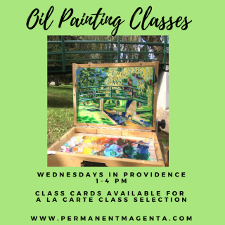 OIL PAINTING CLASS SUMMER AD